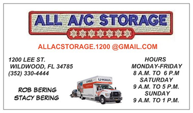 all ac storage opening hours